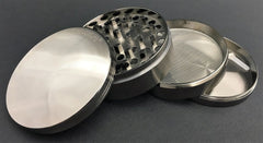 Chromium Crusher 4pc Metal Herb Grinder