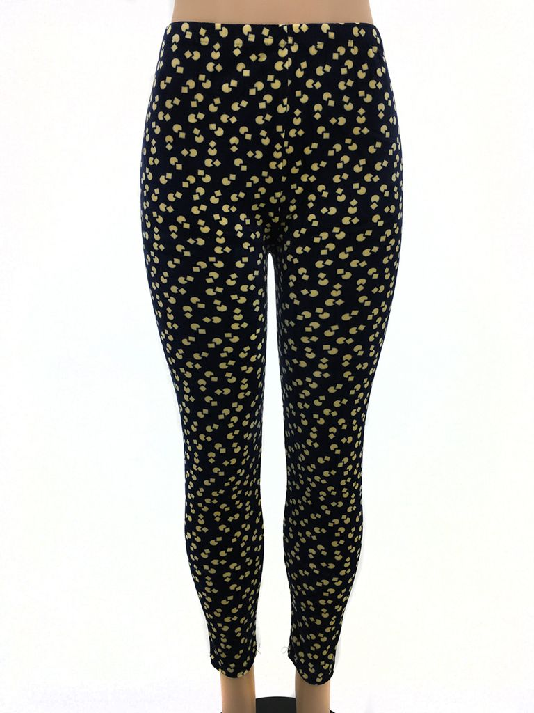 Circle And Square Pattern Leggings Myxedup Com Glass