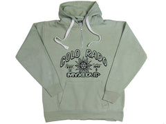 Colorado Myxed Up 1/4 Length Zip Pullover Hoodie