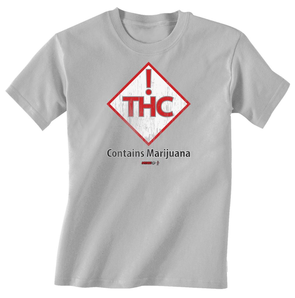 Contains Marijuana THC Myxed Up T-Shirt