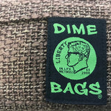 Dime Bags Padded Pouches Brown