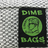 Dime Bags Padded Pouches Silver