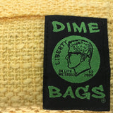 Dime Bags Padded Pouches Yellow