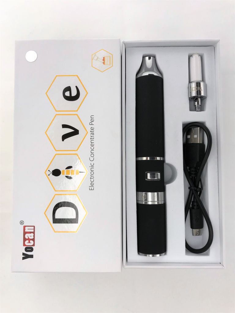 Dive Electronic Nectar Collector Concentrate Pen Black