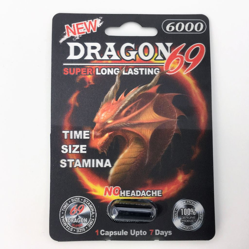 Dragon 69 Sexual Performance Enhancer dietary supplement pill