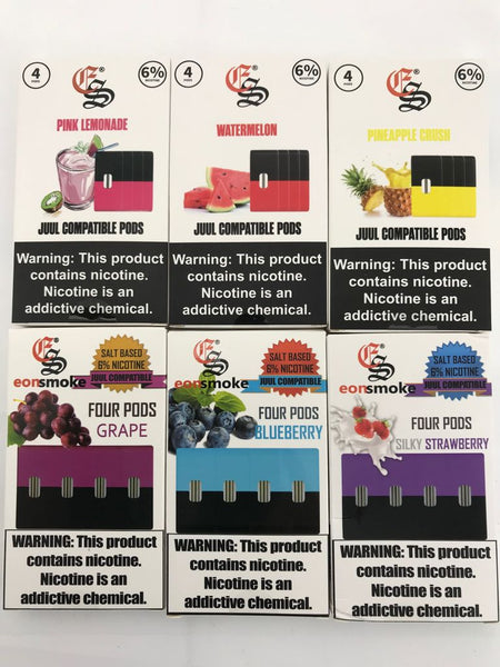 Eon Smoke Juul Compatible Replacement Pods