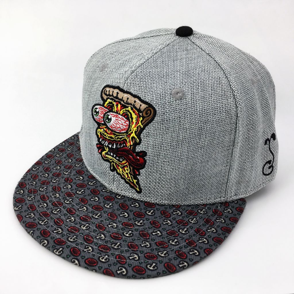 Grassroots Custom Fitted Hats Jimbo Phillips Screaming Pizza