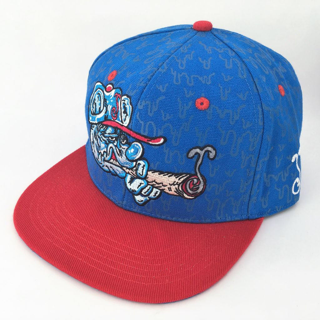 Grassroots Custom Snap Back Hats Melty Bros Cub