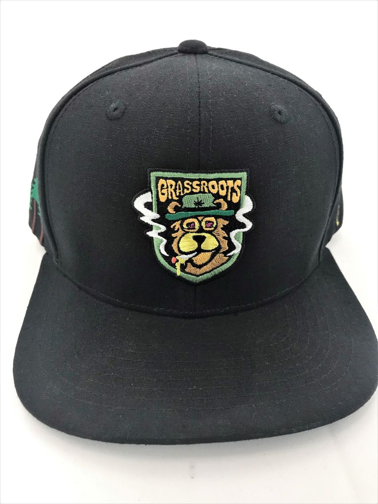 Honey Bear OG Grassroots Snapback Hat