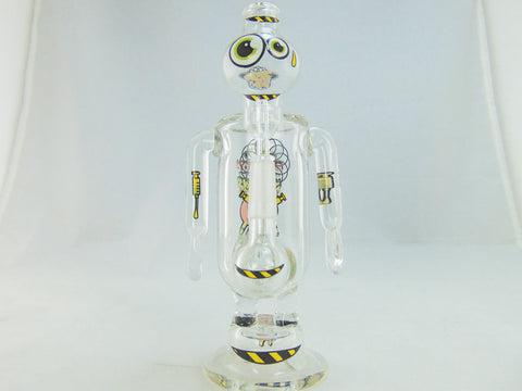 "JBD Jerome Baker Bakerbots ""Enlighten All Humans"" Concentrate Rig"