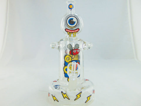 "JBD Jerome Baker Bakerbots ""Robots Love Dabs"" Oil and Concentrate Rig"