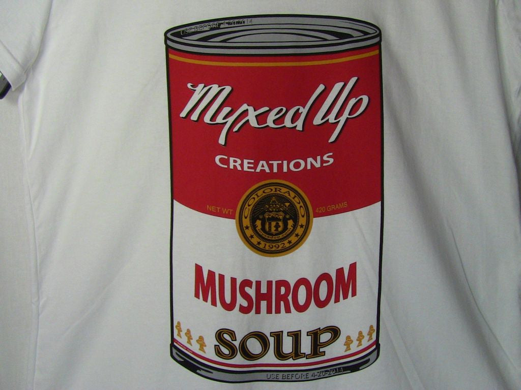 Mushroom Soup Myxed Up T-Shirt