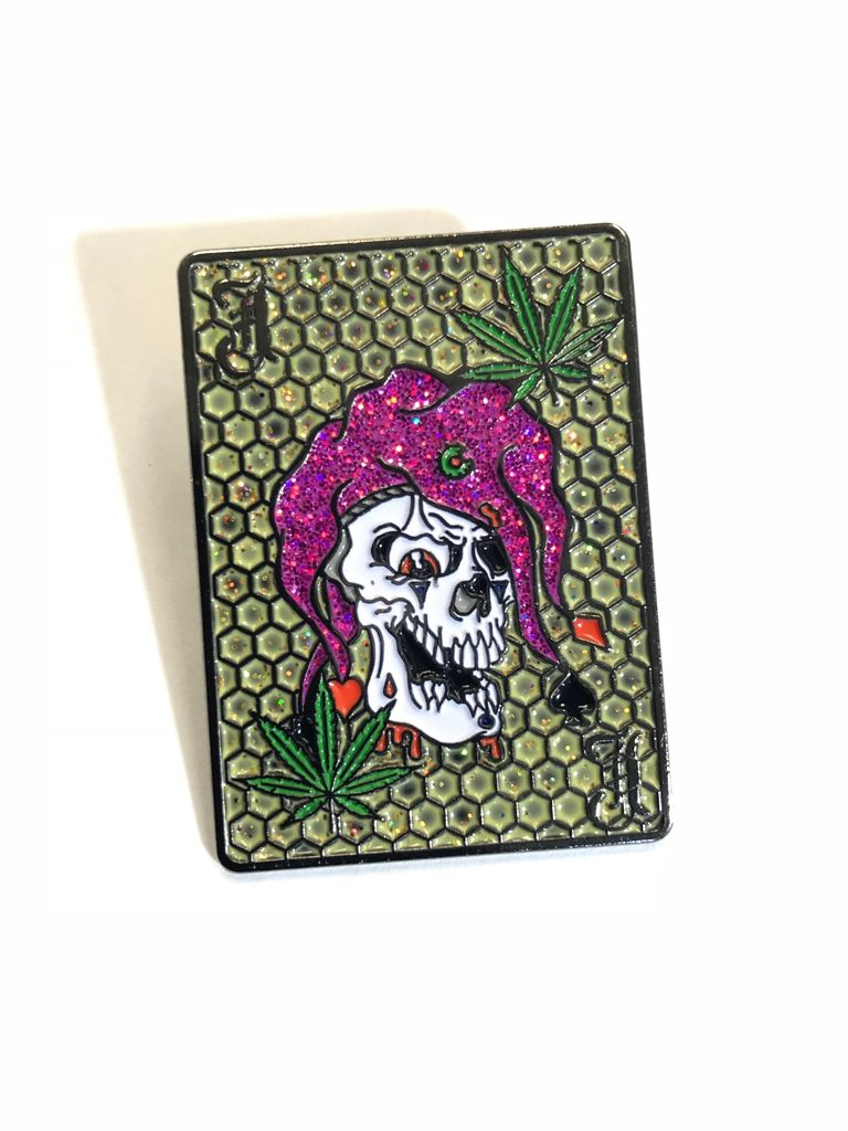 Joker Toker Dabbin Dan Hat Pin