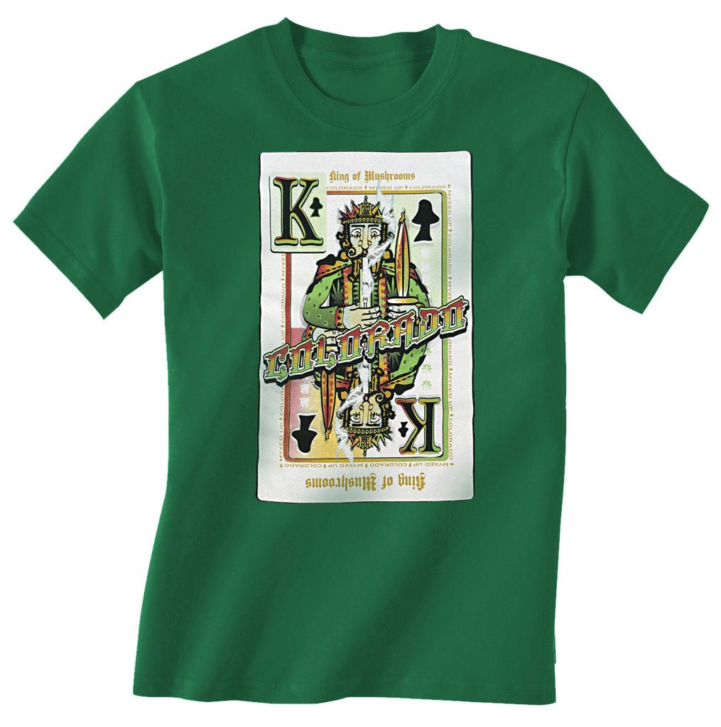 King Of Mushrooms Myxed Up T-Shirt