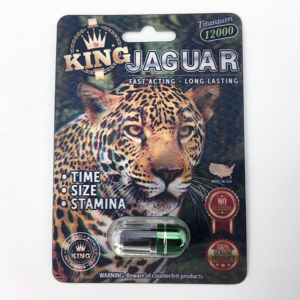 King Jaguar Sexual Performance Enhancer Pill