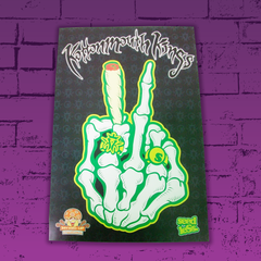 KMK Peace Out Seedless x Myxed Up Collaboration Poster