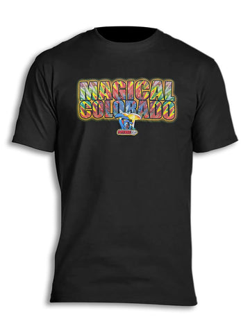 Magical Colorado Mushrooms Myxed Up T-Shirt