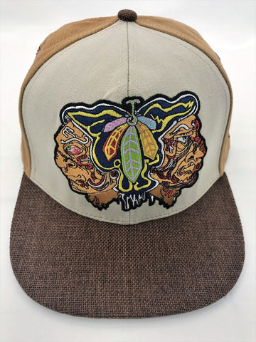 Melty Bros Hawks Feathers Grassroots Collab Snapback