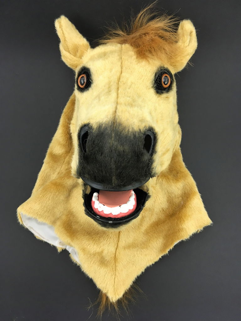 Moving Mouth Masks Horse