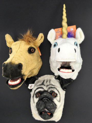 Moving Mouth Animal Masks