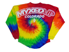 Myxed Up Colorado Long Sleeve Tie Dye Jersey T-Shirt