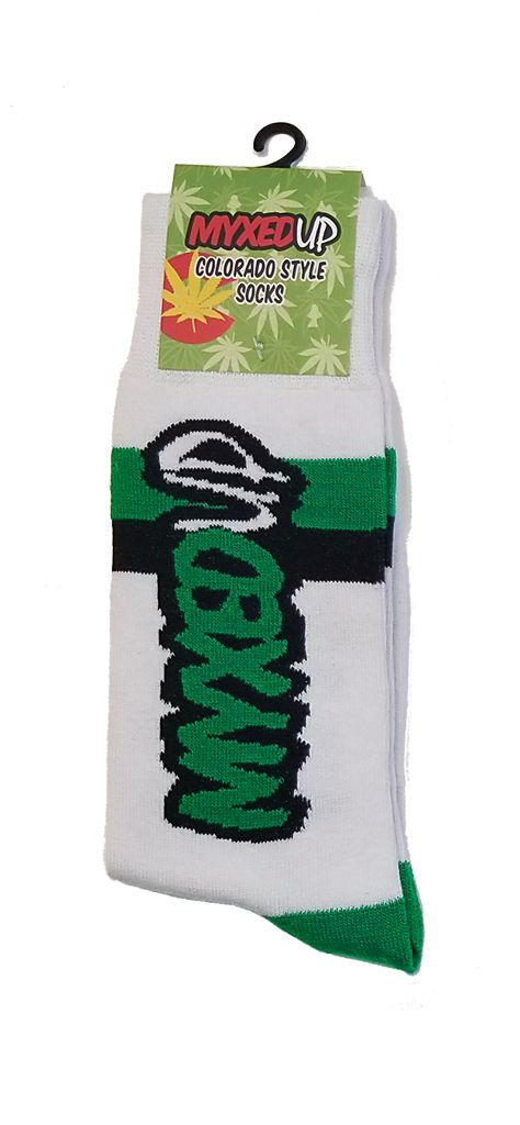 Myxed Up Colorado Style Socks Big Logo