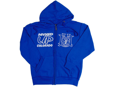 Myxed Up Colorado Zip Up Hoodie