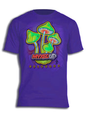 Neon Green Mushrooms Myxed Up T-Shirt
