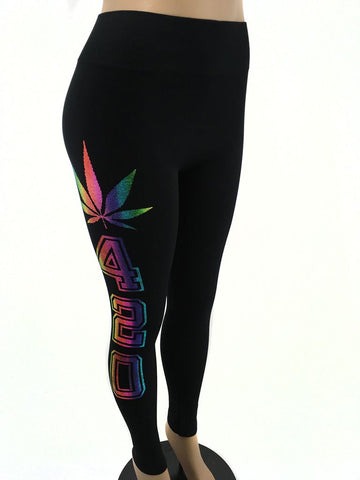 Pot Leaf 420 Leggings