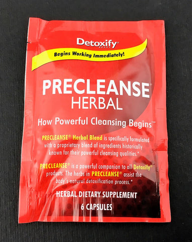 PreCleanse Detoxify Herbal Detox Pills