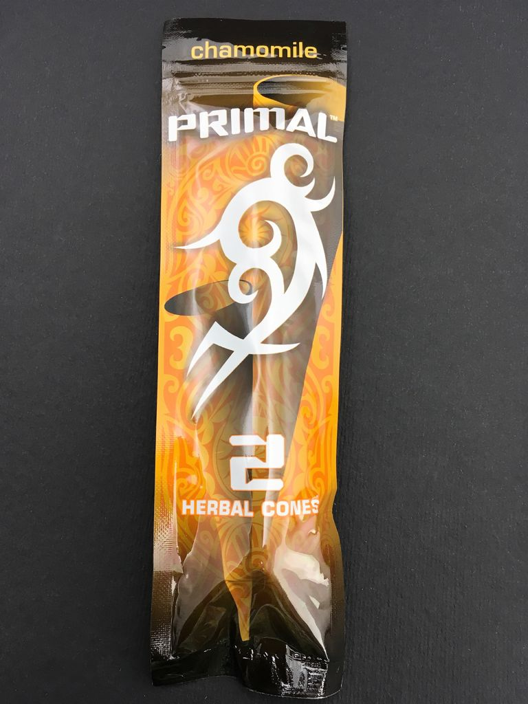Primal Herbal Wraps And Cones Camomile Cone