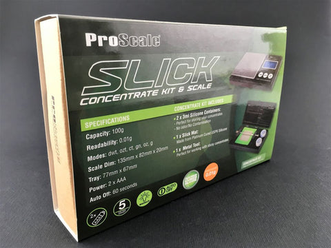 Pro Scale Slick Concentrate Kit & Scale