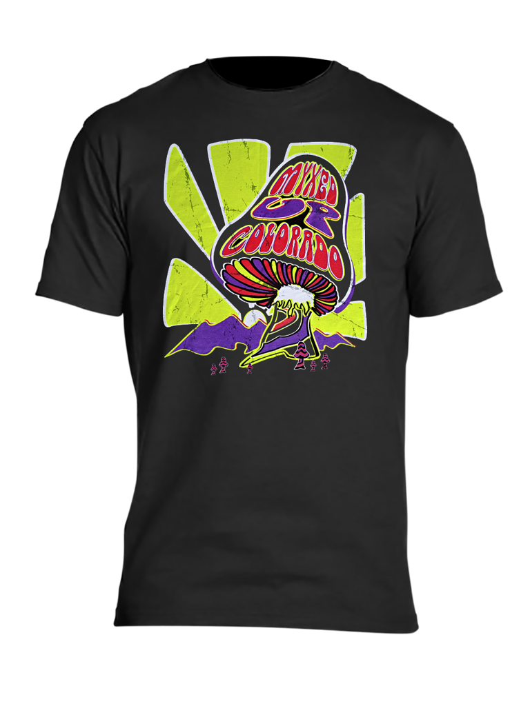 Retro Myxed Up Mushroom T-Shirt