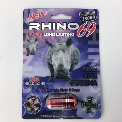 Rhino 69 Sexual Performance Enhancer Pill