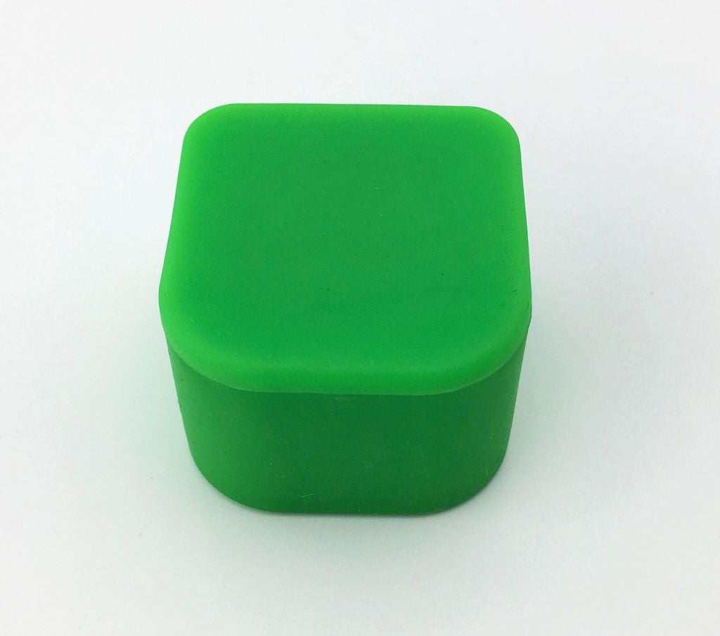 Silicone Cube Concentrate Container
