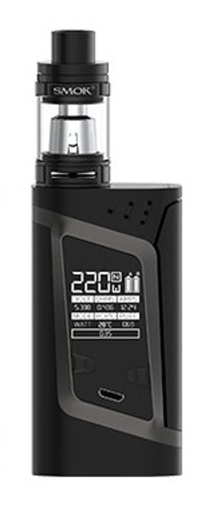 Smok Alien Vaporizer Box Mod Kit Black with Black