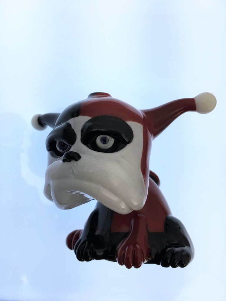 Swanny Glass Harley Quinn Bulldog Oil Rig