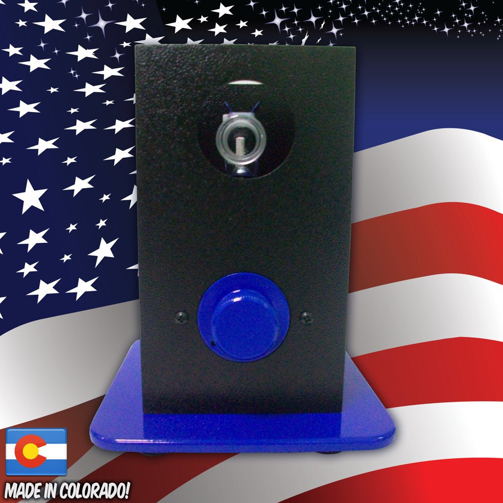 THe Can Vapor System desktop vaporizer black and blue