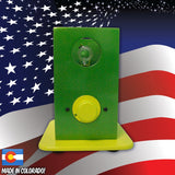 THe Can Vapor System desktop vaporizer Green and Yellow
