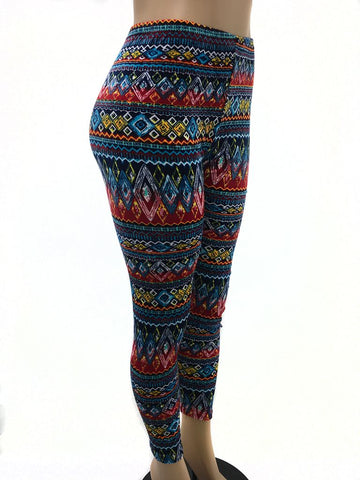 Tribal Design Leggings