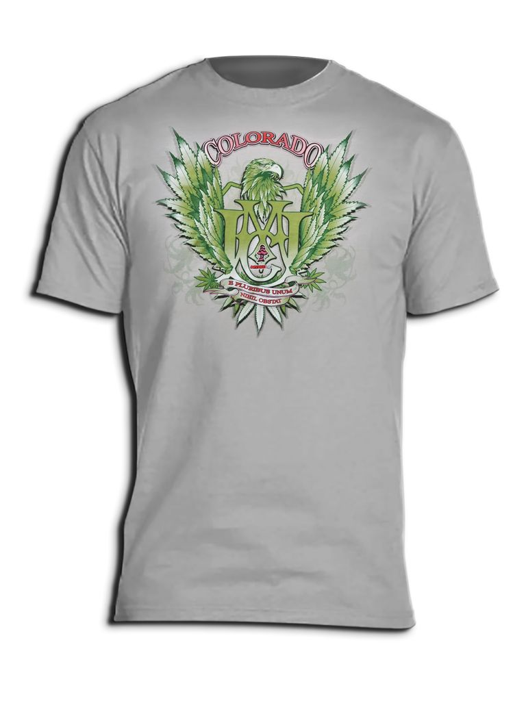 Winged Eagle Myxed Up T-Shirt