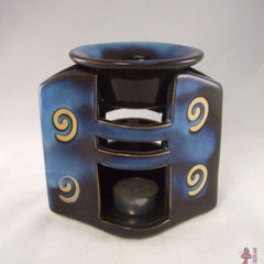 Blue Glazed Ceramic Oil Diffuser