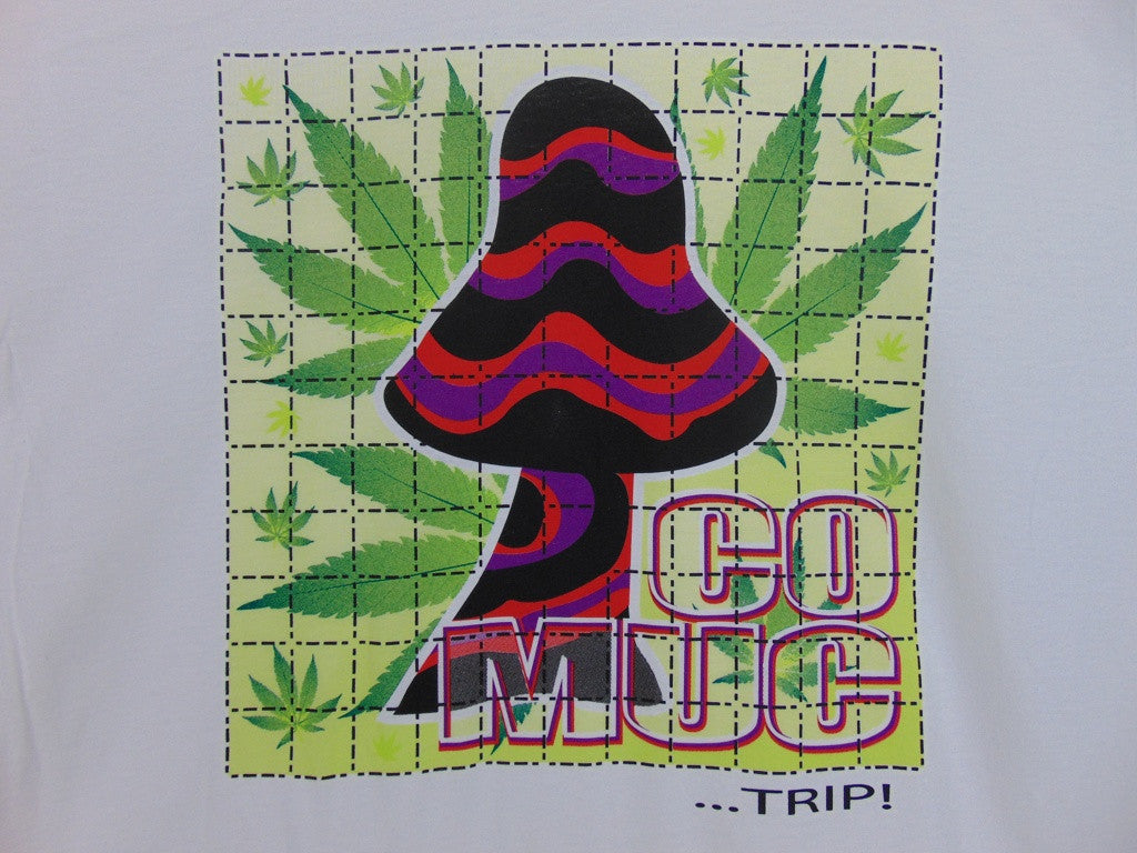 CO MUC Trip Blotter T-Shirt Design