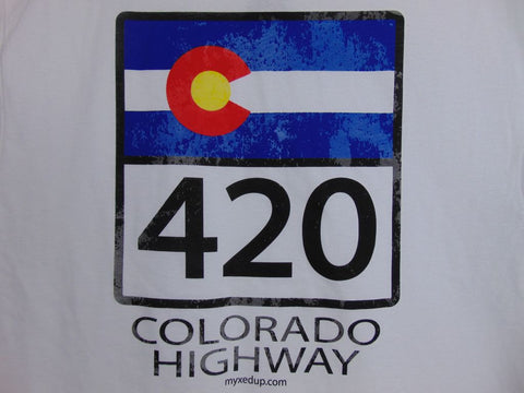 Colorado Highway C-420 Myxed Up T-Shirt