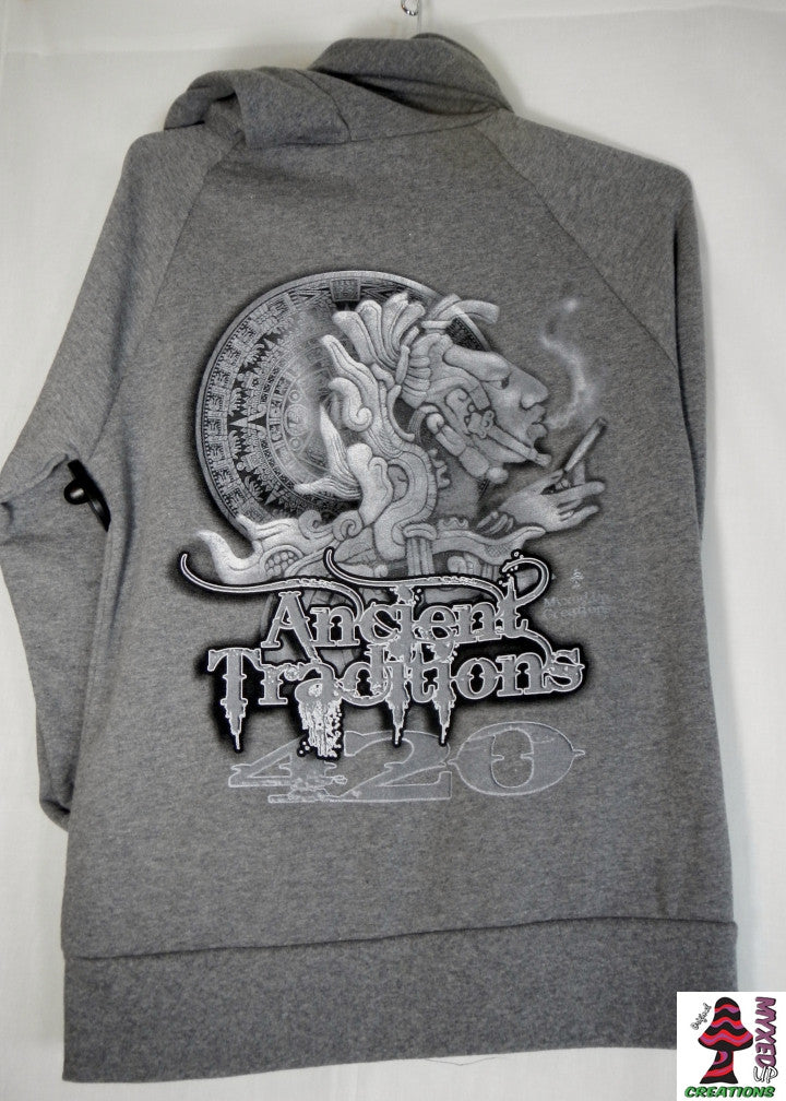 Gray Ancient Traditions Hoodie