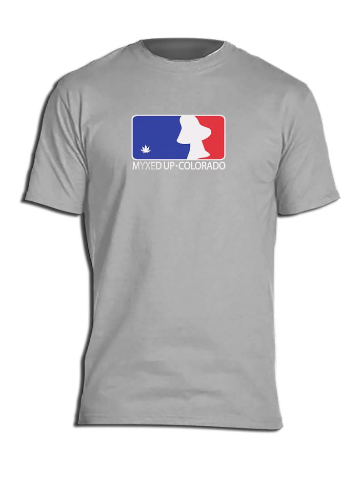 Major League Mushroom MLB Myxed Up Baseball T-Shirt