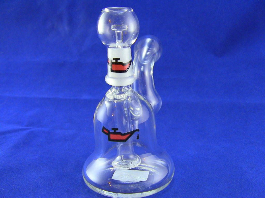 Micro-Rig Bubbler Red Oil 10mm