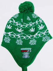 myxed up colorado style earflap beanie hat