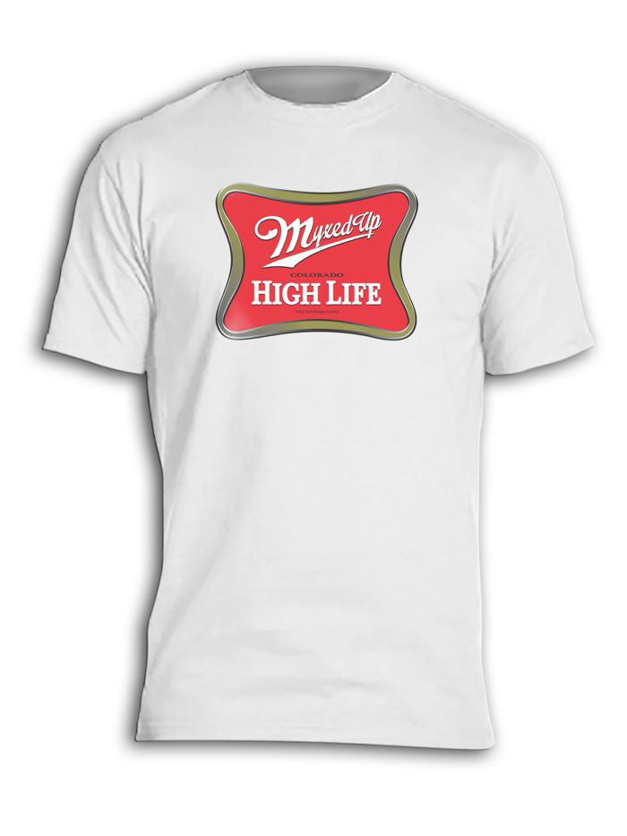 Myxed Up Miller High Life T-Shirt