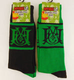 Myxed Up Colorado Style Socks with Myxed Up Creations Scramble logo design